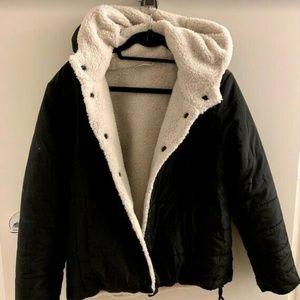 Sanctuary Reversible Faux-Fur, Quilted Puffer Coat
